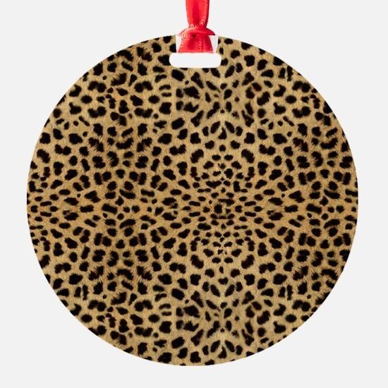 blanketleopardprint Ornament