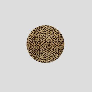 blanketleopardprint Mini Button