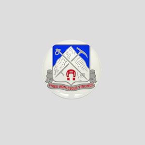 1-87 Infantry Unit Crest Mini Button