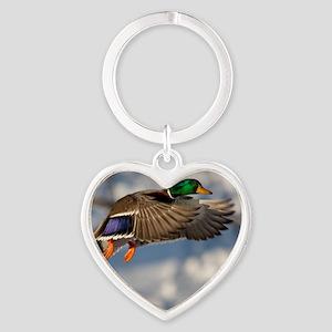 D1271-005cal Heart Keychain
