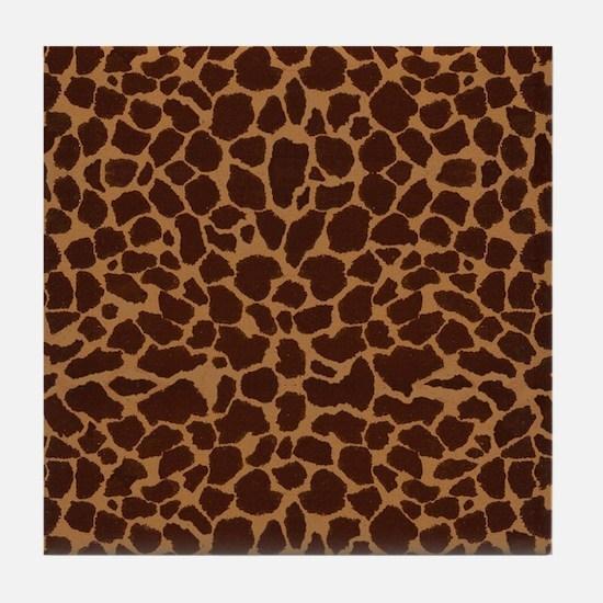 blanketgirrafe2 Tile Coaster