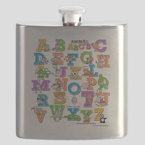 ABCs of Animals RGB Flask