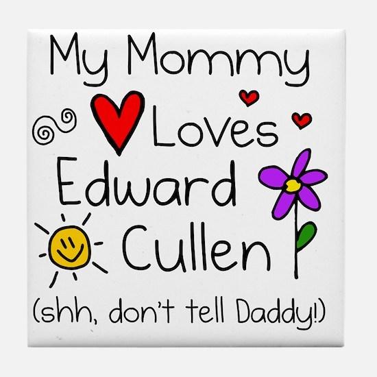 Shh Daddy Tile Coaster