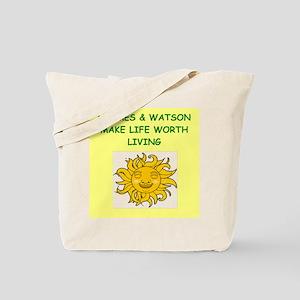 holmes and watson Tote Bag