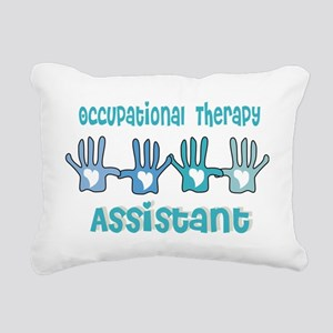 Occupational Therapy Ass Rectangular Canvas Pillow