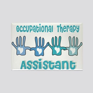 Occupational Therapy Assistant 4  Rectangle Magnet