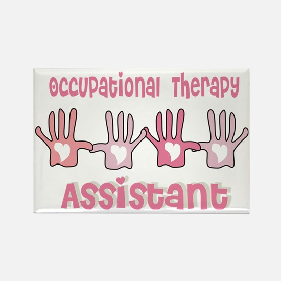Occupational Therapy Assistant PI Rectangle Magnet