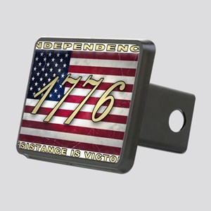 usa-flag-1776 Rectangular Hitch Cover