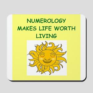 numerology Mousepad