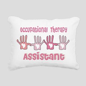 Occupational Therapy Ass Rectangular Canvas Pillow