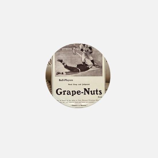 1909 Grape-Nuts Ad Mini Button