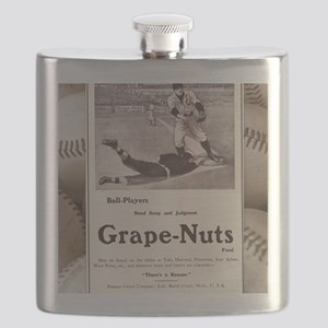 1909 Grape-Nuts Ad Flask