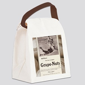 1909 Grape-Nuts Ad Canvas Lunch Bag