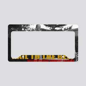 Hail to the Beef - 2014 Presi License Plate Holder