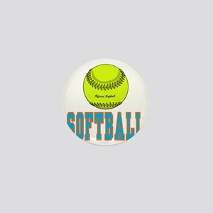 softball aa Mini Button