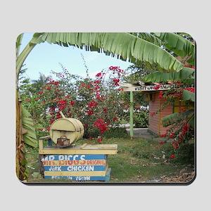 Jerk_Chicken_Stand_Negril_Jamaica_LR Mousepad