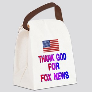 FOX NEWS Canvas Lunch Bag