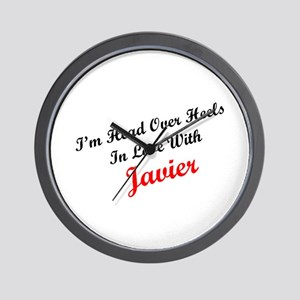 In Love with Javier Wall Clock