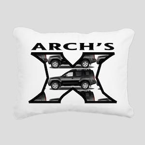 archs-x-2 Rectangular Canvas Pillow