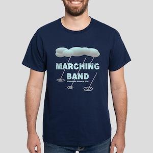 Marching Band in the Rain Dark T-Shirt