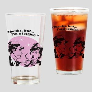 But Im A Lesbian Drinking Glass