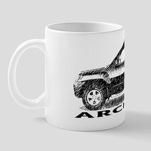 archs-x-4 Mug