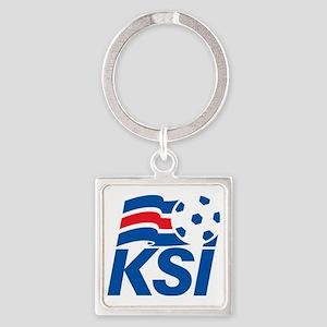 Iceland_FA Square Keychain
