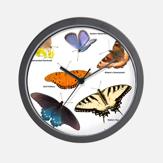 12x12_BflyT2011 Wall Clock
