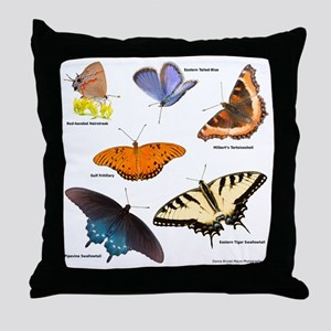 12x12_BflyT2011 Throw Pillow