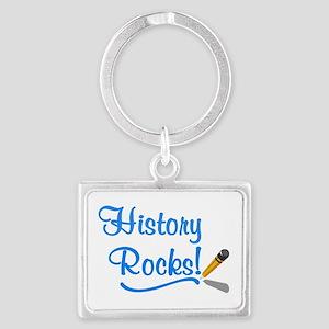 History Rocks Landscape Keychain