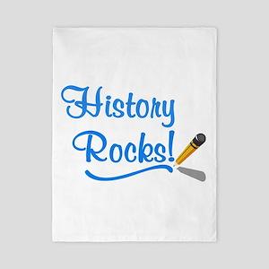 History Rocks Twin Duvet