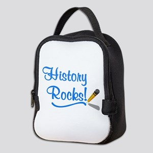 History Rocks Neoprene Lunch Bag