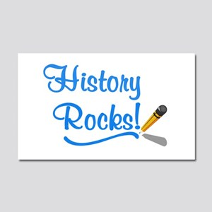 History Rocks Car Magnet 20 x 12