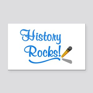 History Rocks Rectangle Car Magnet
