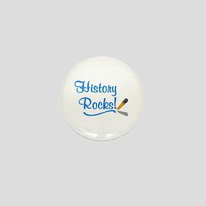 History Rocks Mini Button