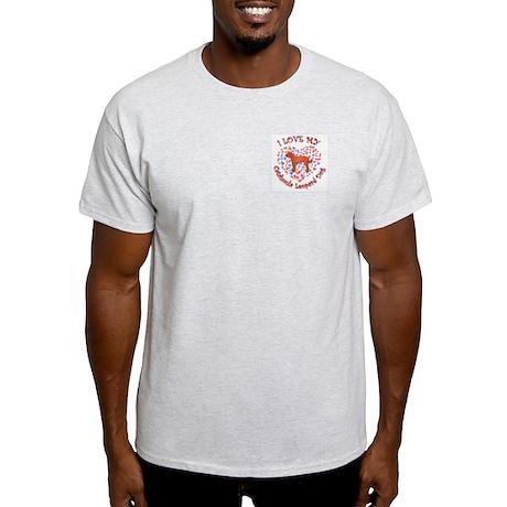 Love Catahoula Ash Grey T-Shirt