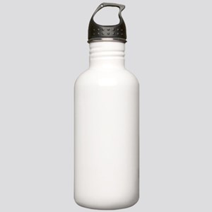 Hoops Dude White Stainless Water Bottle 1.0L