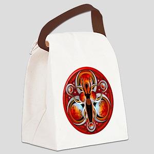 Goddess Design - 003 - Fire Canvas Lunch Bag