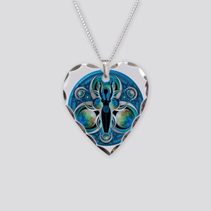 Goddess Design - 005 - Water Necklace Heart Charm
