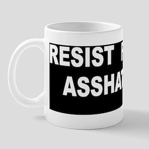 asshattery bumper_sticker Mug