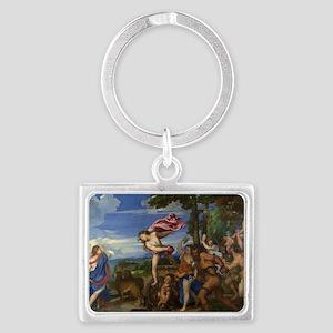 Bacchus and Ariadne Landscape Keychain