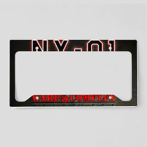 NX01 LFPWW License Plate Holder