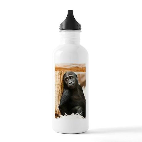 Cute Baby Gorilla Water Bottle