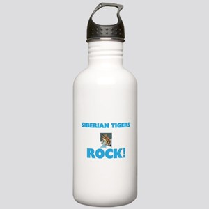 Siberian Tigers rock! Stainless Water Bottle 1.0L