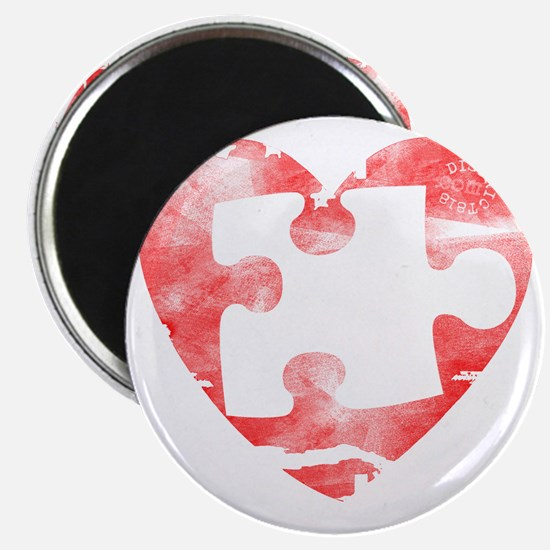 missing_puzzle_piece_from_heart Magnet