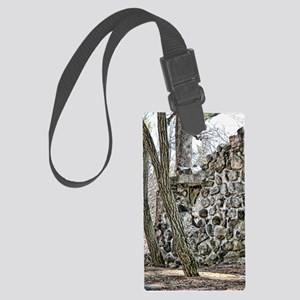 wall of stone_iphone Large Luggage Tag