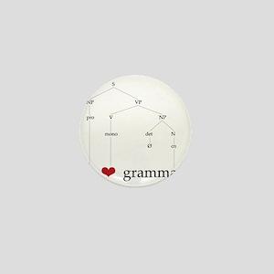 I ? Grammar Mini Button