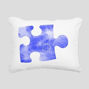 missing_puzzle_piece_1 Rectangular Canvas Pillow