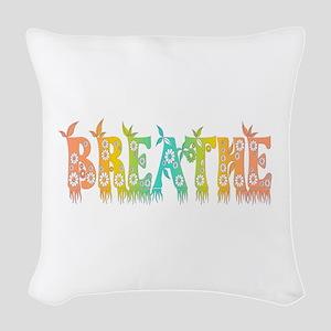 Breathe Easy Woven Throw Pillow
