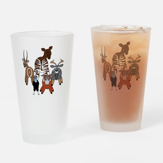 Pembedark2 Drinking Glass